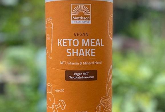 Keto meal shake chocolade/hazelnoot bio Mattisson (500 gr)