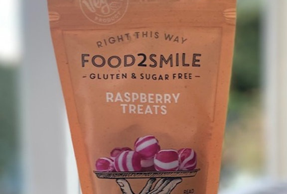 Raspberry treats Food 2 smile (90 gr)