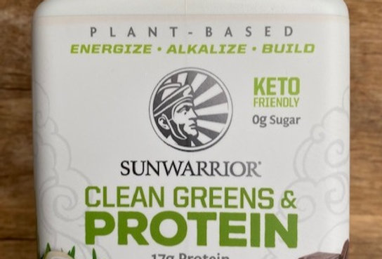 SUNWARRIOR CLEAN GREENS & PROTEÏNE CHOCOLADE (175 GR)AM