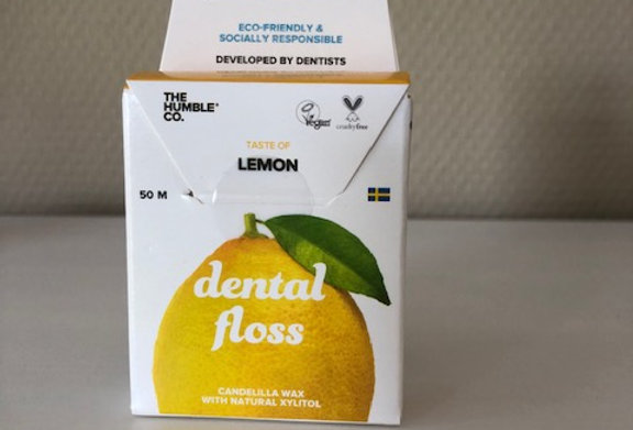 Dental floss lemon 50 m
