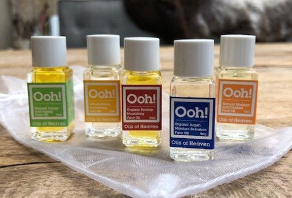 Ooh! Oils of heaven reisset