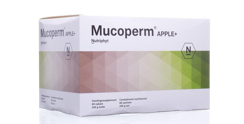 Mucoperm Apple 60 zakjes