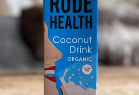 Kokosdrink glutenvrij/bio Rude Health (1 liter)