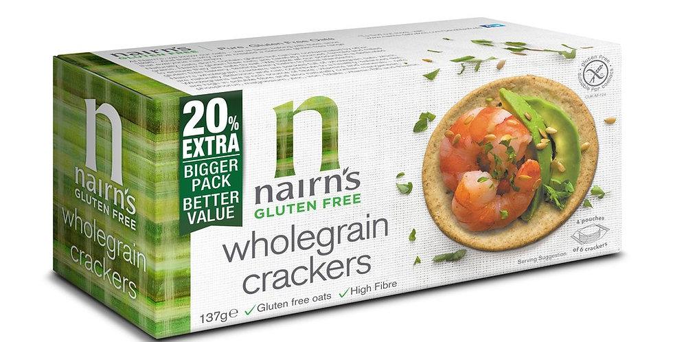 Nairns glutenvrije volkoren crackers 137 gr