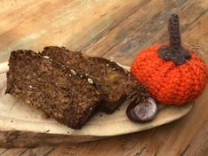Herfstige pompoencake! (glutenvrij/lactosevrij/exorfinevrij)