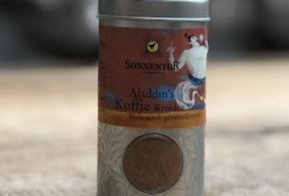 Aladins bio koffiekruiden 35 gr Sonnentor