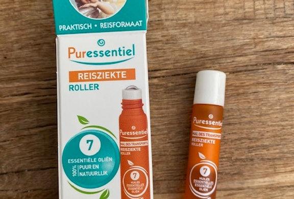 Reisziekte roller (7 essentiële oliën)