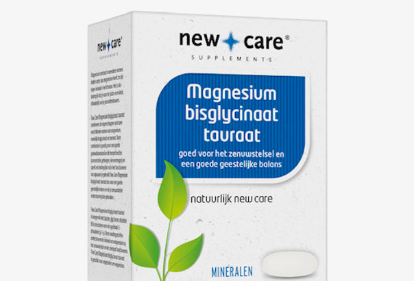 Magnesium bisglycinaat tauraat New Care (60 tabl)