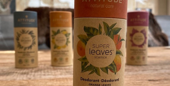 Natuurlijke deodorant Attitude/Leaves  orange leaves (85 gr)