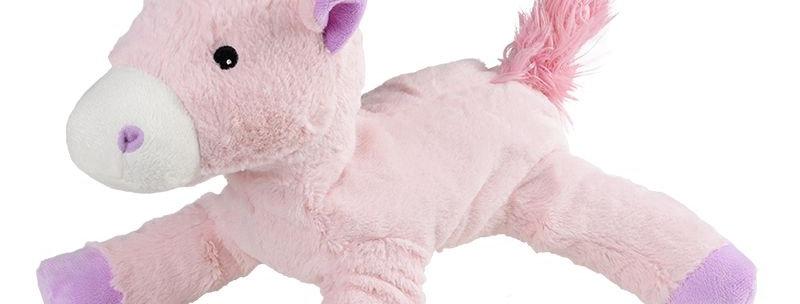 Warmies Roze eenhoorn (30 cm)