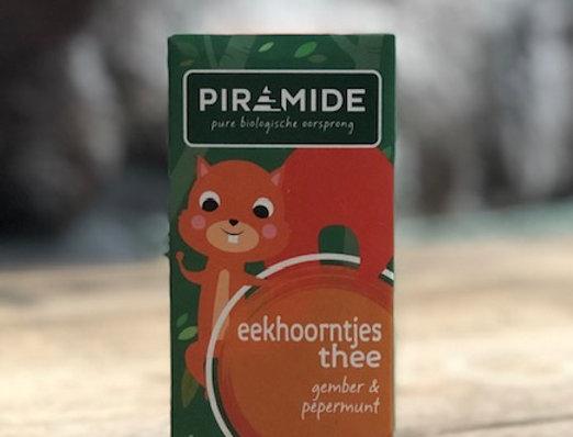 Eekhoorntjes thee (gember & pepermunt) bio