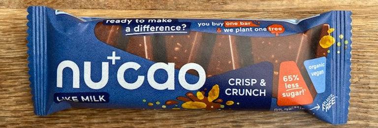 Nucao Crisp en Crunch bio (40 gr)