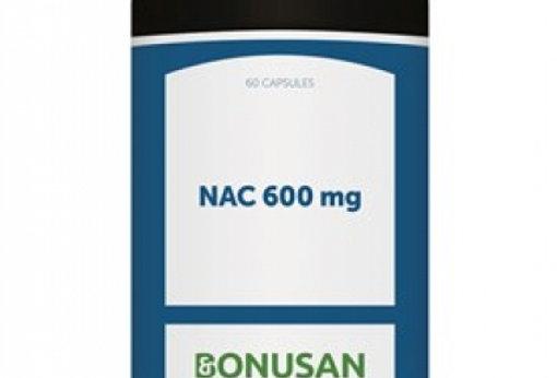 NAC 600 mg 60 capsules Bonusan