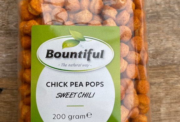 Chick pea pops Sweet chili Bountiful (200 gr)