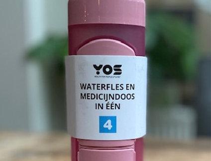 Yos bottle Daily Pretty Pink (375 ml)