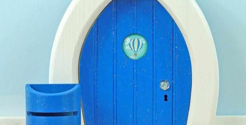 Twinkel droomdeurtje wolkenblauw