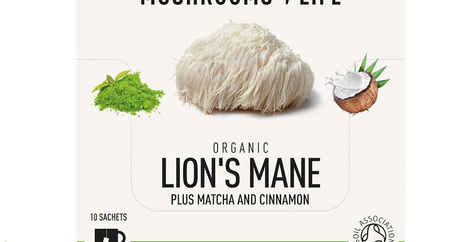 Lion's Mane – Matcha Paddenstoelen Latte bio (1 zakje)