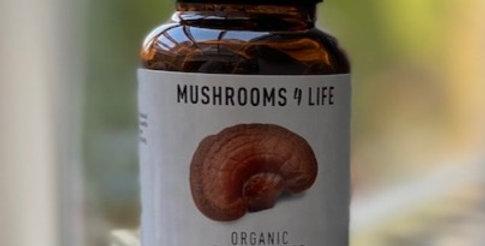 Organic Reishi Bio Mushrooms 4 life (60st)