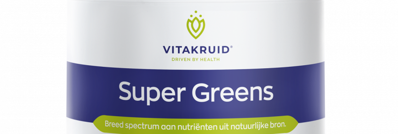 Super Greens Vitakruid 220 gr