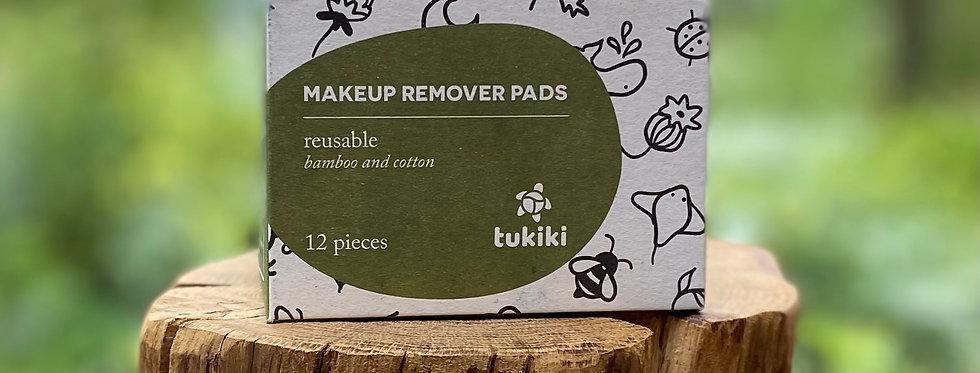 Make-up remover pads Tukiki (12 stuks in waszak)