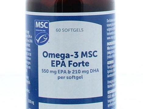 Omega-3 MSC EPA Forte 60 softgels Bonusan