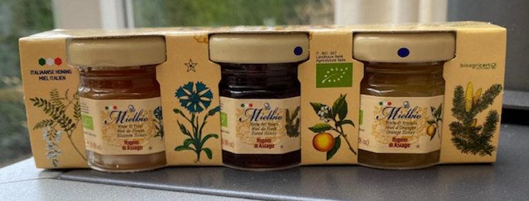 Mielbio honing bio mix (3x 25 gram)