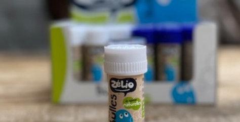 Bellenblaas met bio-zeep Zelio WIT (50nml)