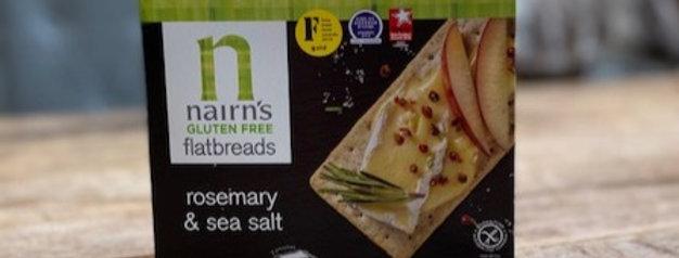Glutenvrij flatbread rozemarijn/ zeezout Nairns