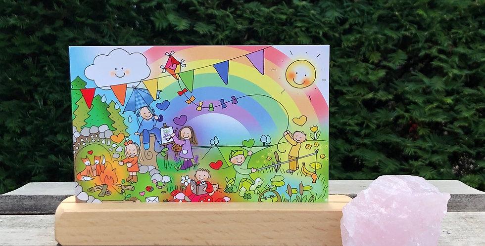 Kaart Regenboogkindjes (A6)