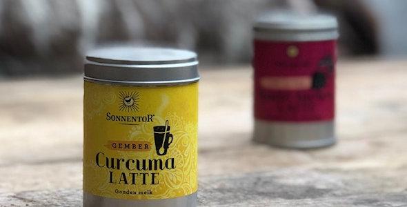 Curcuma-gember Latte bio 60 gr Sonnentor