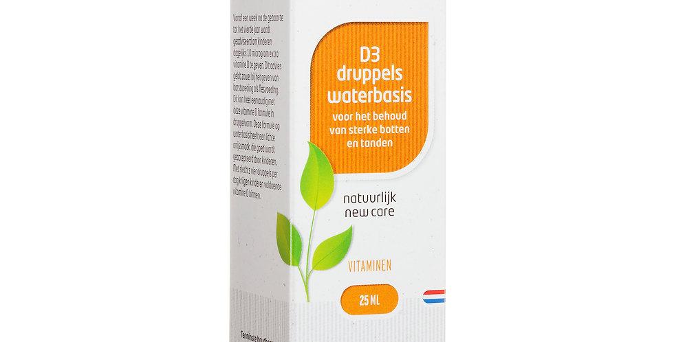 D3 druppels op waterbasis