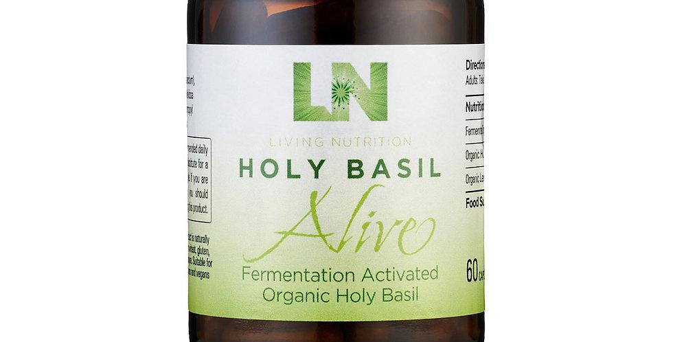 Holy Basil Alive – Basilicum & Citroenmelisse Living Nutrition (60st)
