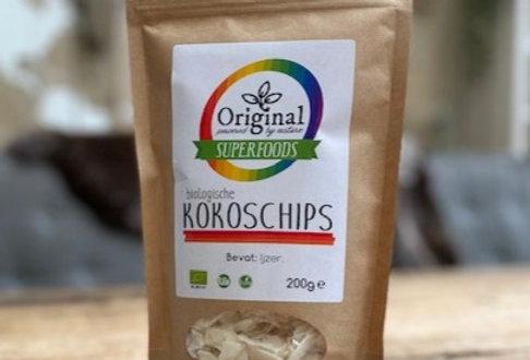 original superfoods bio kokoschips 200 gr