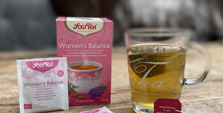 Yogi tea Woman's balance bio (17 zakjes)
