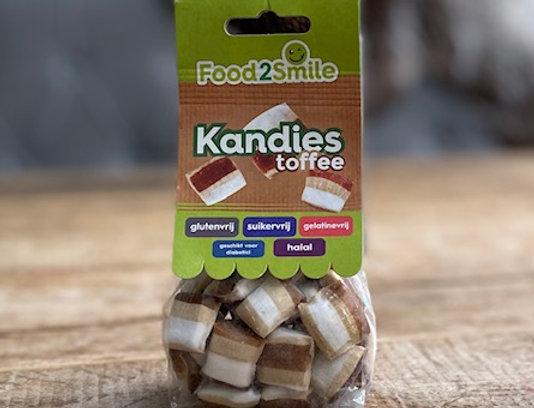 Kandies toffee Food2smile 100 gr