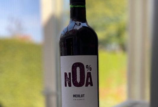 Alcoholvrije rode wijn Merlot Noa (750 ml)