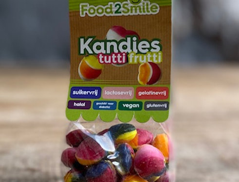 Food 2 smile Kandies tutti frutti 100 gr