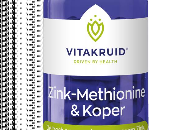Zink Methionine & Koper 90 vegacapsules Vitakruid