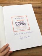 Blog review Bakken zonder tarwe! van Marike Bol