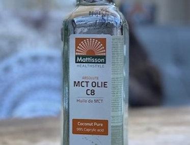 MCT olie C8 Coconut pure Mattisson (250 ml)