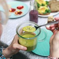 Romige boordevol groenten soep! (vegan/exorfinevrij)