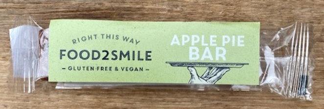 Apple pie bar food 2 smile GLUTENVRIJ + VEGAN (28 gr) (tht 01-21)