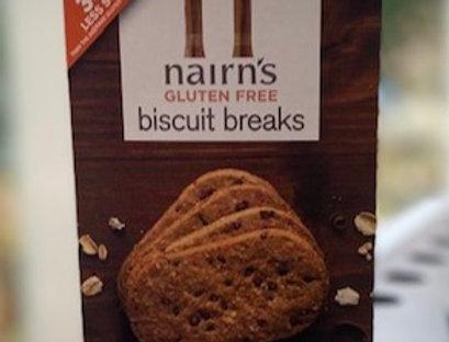 Nairns Biscuit breaks oat & chocolate chip (160 gr/per 4 verpakt)