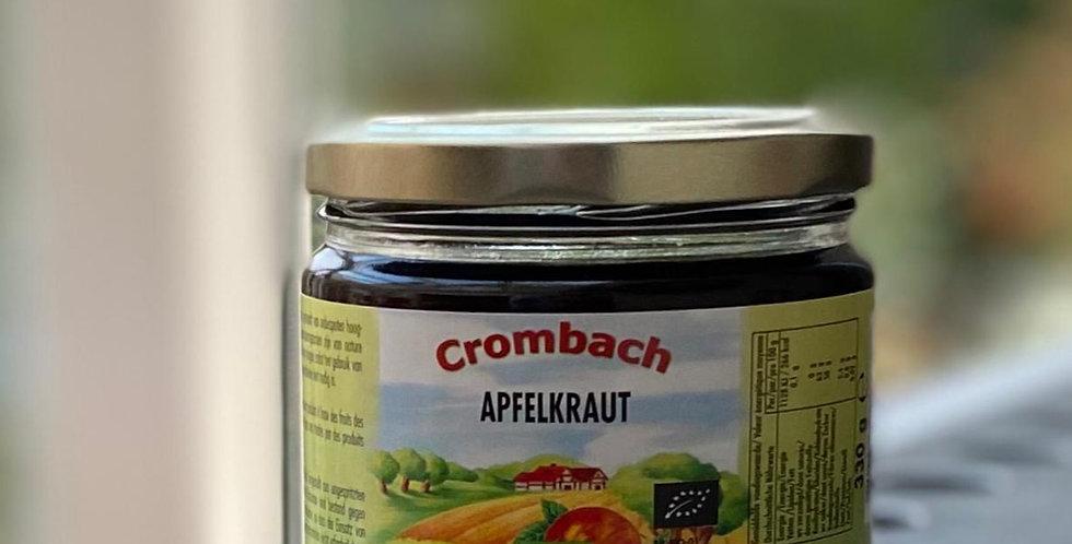 Crombach Appelstroop bio (330 gr)
