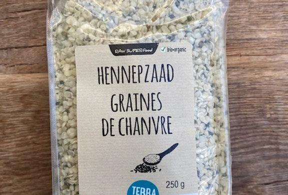 Hennepzaad Raw Terrasana bio (250 gr)