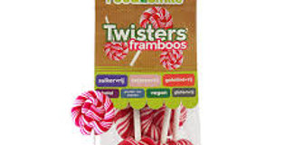 Twisters framboos lollies Food 2 smile (5st)