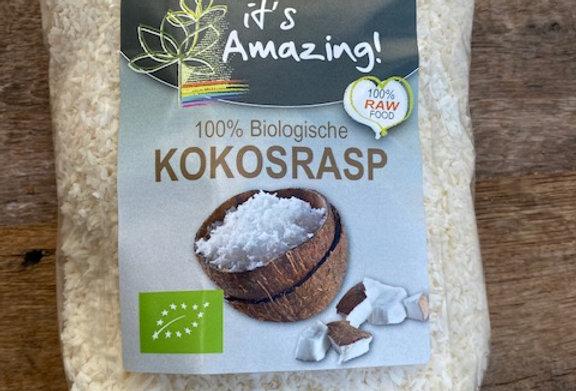 100% biologische kokosrasp 500 gr It's Amazing