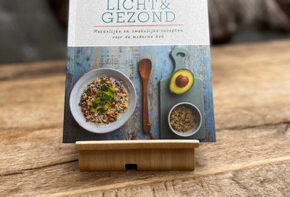 Licht & gezond, makkelijke recepten voor de moderne kok 190 pag