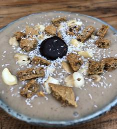 Ontbijt-traktatie-bowl (of lunch.. of toetje.. of tussendoortje..) (glutenvrij/vegan)