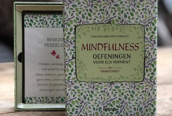 Mindfulness kaartenset